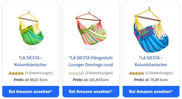 Beispiel für Produktboxen in AmazonSimpleAdmin