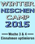 WinterNischenCamp 2015 – Woche 3 & 4 – Einnahmen optimieren und mehr neue Inhalte