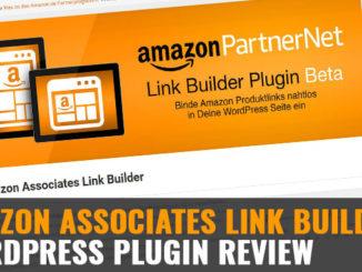 Amazon Associates Link Builder: Wordpress Plugin Review