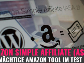 Amazon Simple Affiliate (ASA2): Das mächtige Amazon Tool im Test