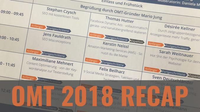 OMT 2018 Recap